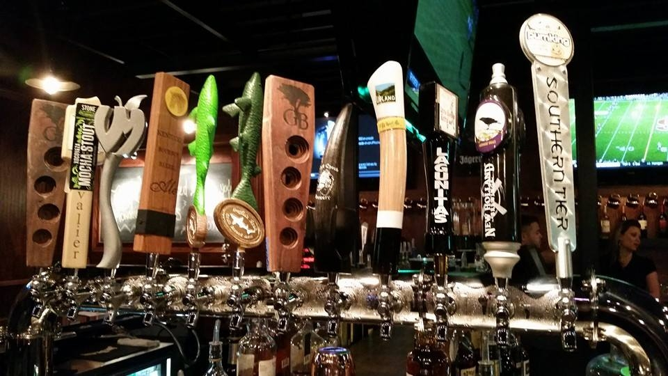 17 Beers on Tap