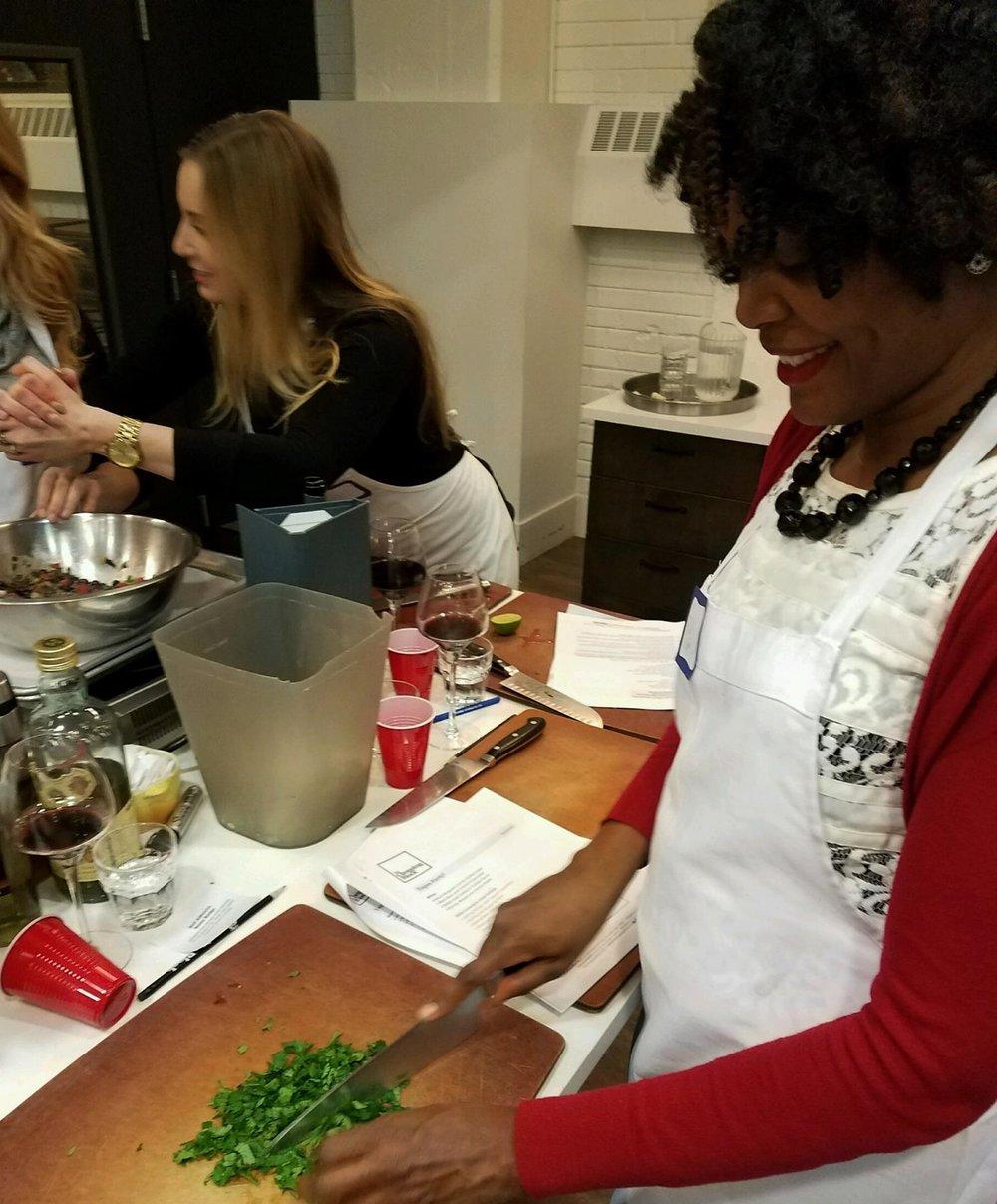 Empanadas in the making