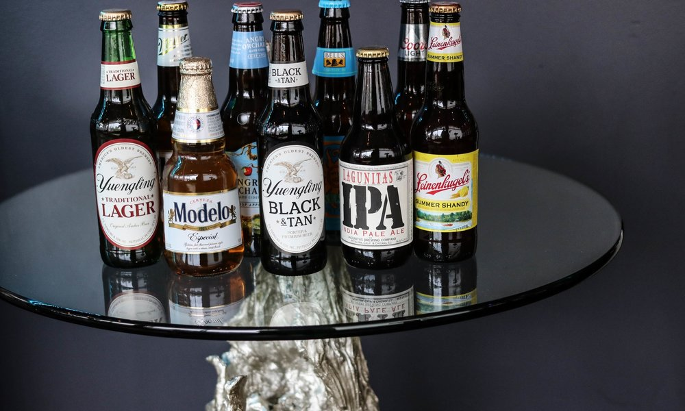 A mixture of craft and domestic bottles are available for non-wine drinkers.