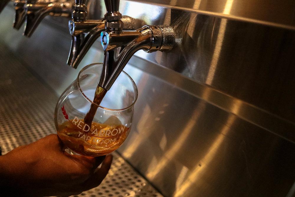 Pour a few ounces or a full glass