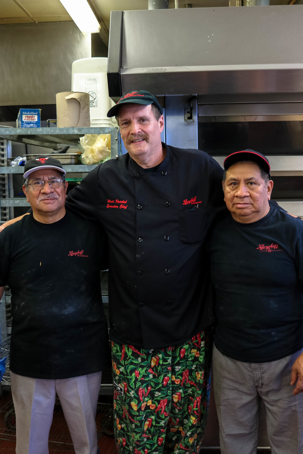 These brothers have been running the in-house bakery for 30 years!