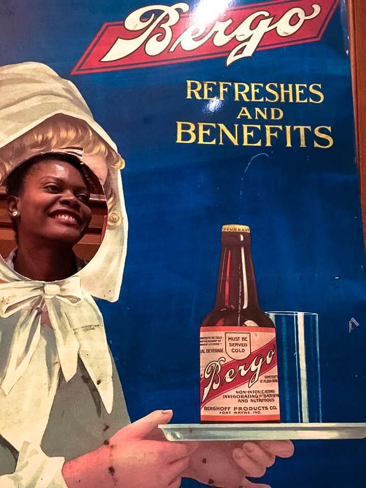 Prohibition-era advertising of Bergo soft drinks