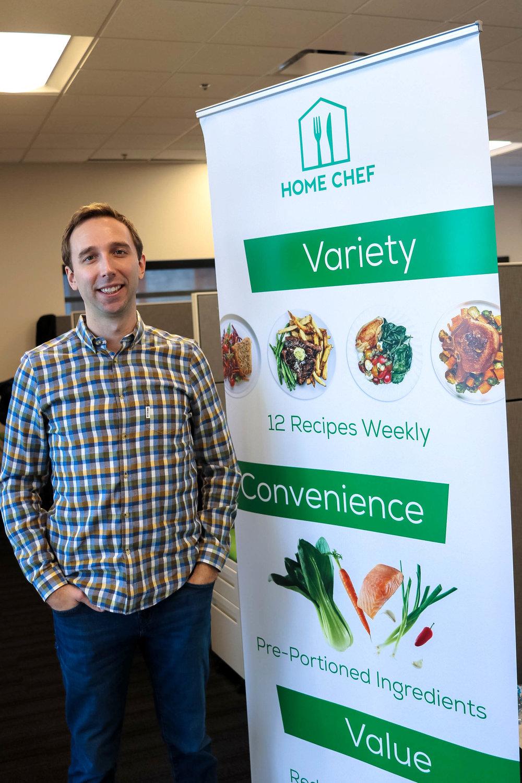 Home Chef Founder, Pat Vihtelic
