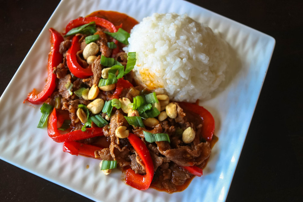 Ginger Steak and Peppers