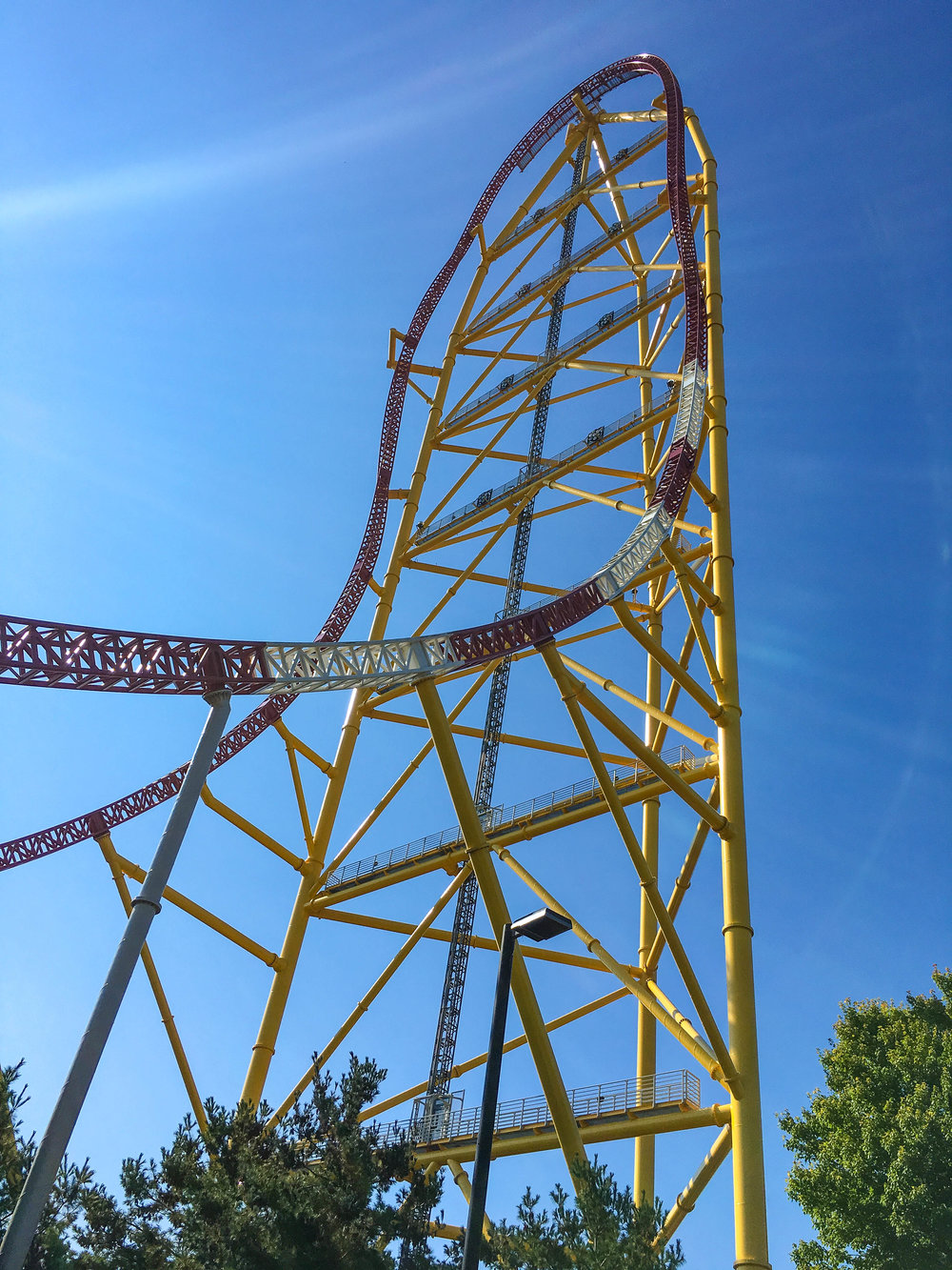 Top Thrill Dragster: Over 420 feet high