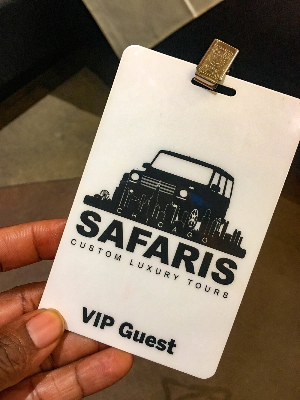 Chicago Safaris offers 3 package levels