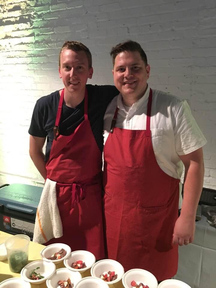 Top Chef Season 15 Winner Joe Flamm, right