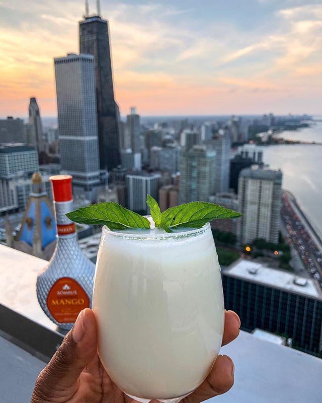 Savoring every moment of summer; no pumpkin anything until September 23rd, it's @enjoysomrus Coladas all the way!  Thanks for this treat @enjoysomrus!  Are you still in summer mode are have you moved on to fall? @somrus Colada •Somrus Liqueur •Coconut Cream •Pineapple Juice •1 Shot of Rum . . . . .  #cocktails🍸 #libations #delicious😋 #cocktailrecipes #cocktailtime #cocktailoftheday #whatsinhere #homebartender #somrus #creamliqueur #mychicagopix #chicagoland #happyhourtime #flosfavorites #pinacoladas #chicagogrammers #wcbc #lifestylebloggers #summertimechi #chicagoskyline