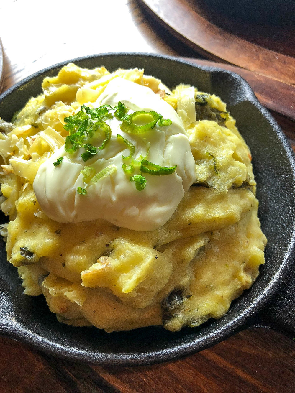 Poblano Mashed Potatoes