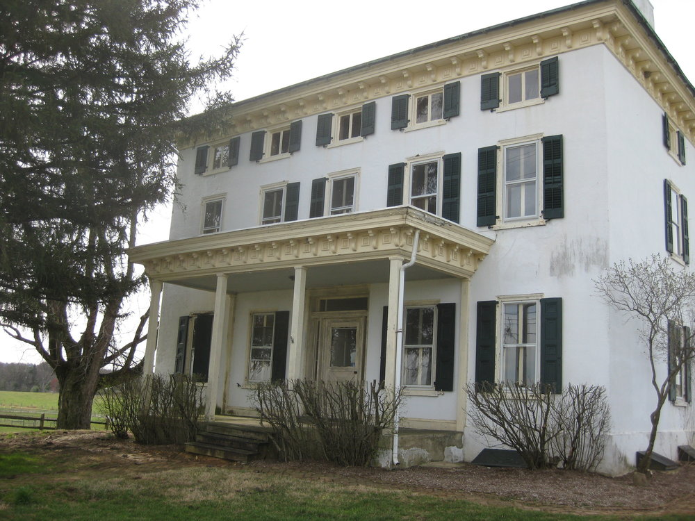 Whitemarsh Foundation Farmhouse Pre-Restoration