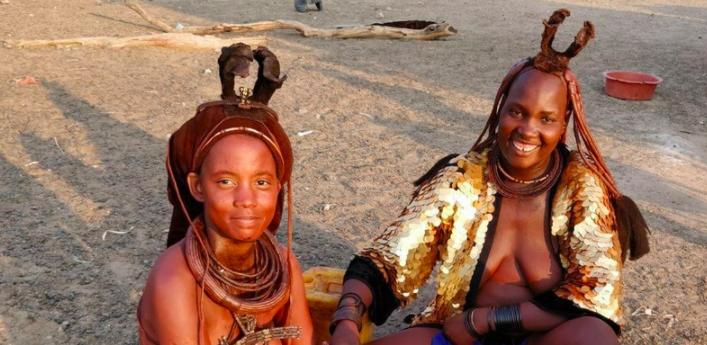 Samantha Moyo in Namibia