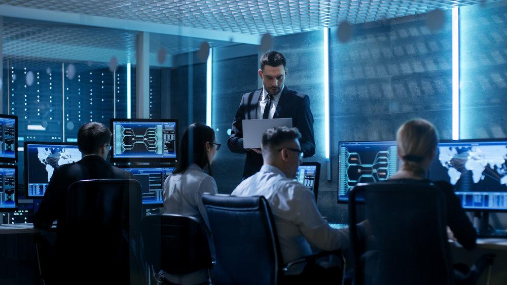 24/7 Network management monitoring & maintenance.