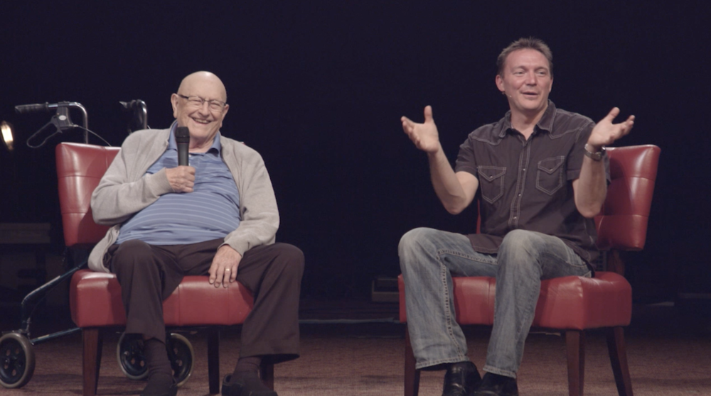 The Celebration - This week we celebrated and gave thanks! With over 2,000 people at our All-Church Celebration on Sunday and then a special treat at our Monday Night Service, featuring guest Rev. Paul Markell, the man who founded our church! We hope you enjoy this special conversation and message!