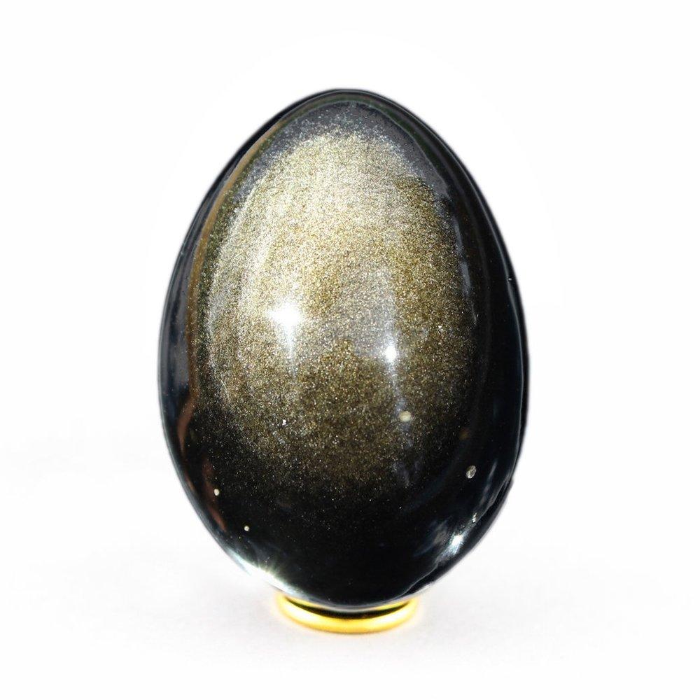 Egg Golden Sheen Obsidian