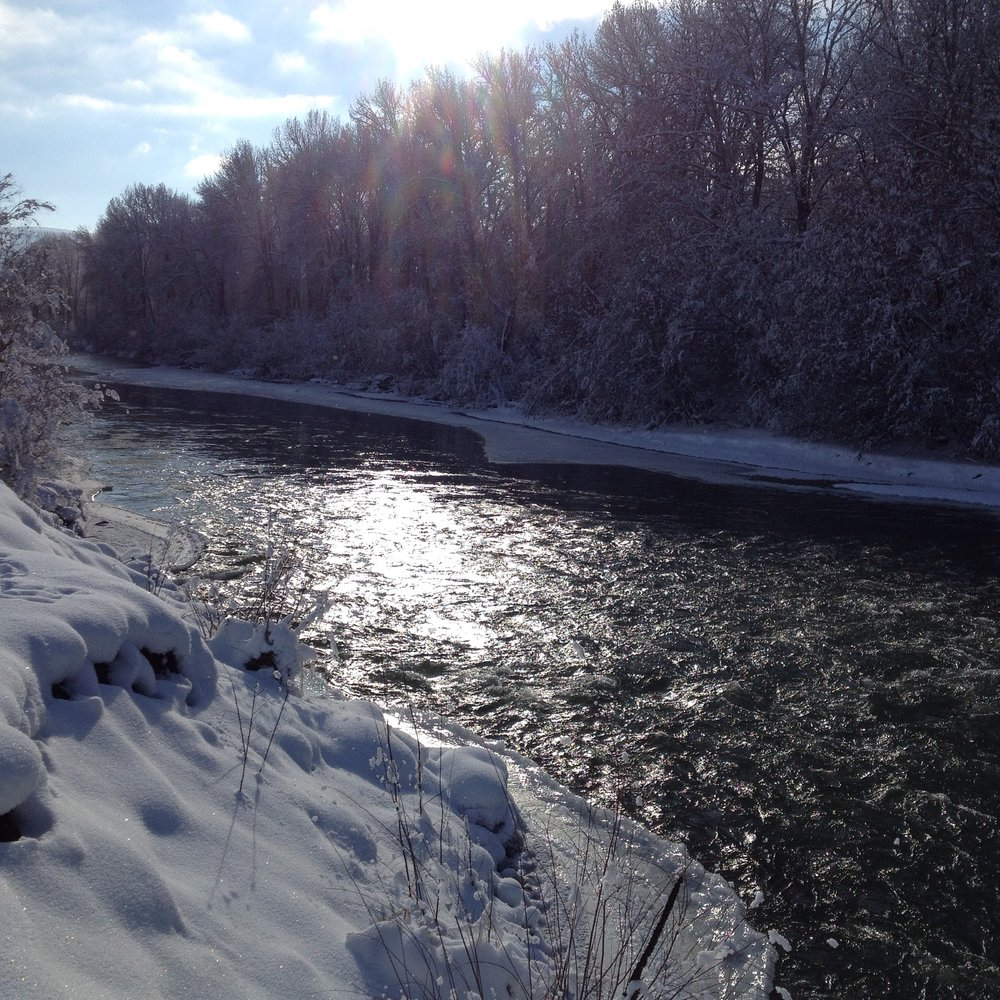 Winter on the Yakima River