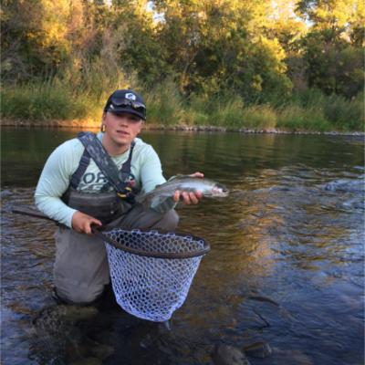 Keegan Carlson - Guide of Ellensburg Angler;