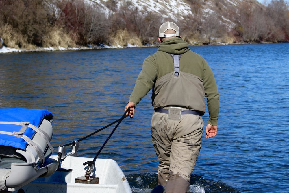 Yakima River Canyon Drift Boat