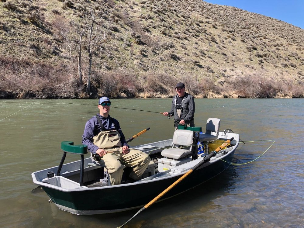 Yakima River Drift Boat