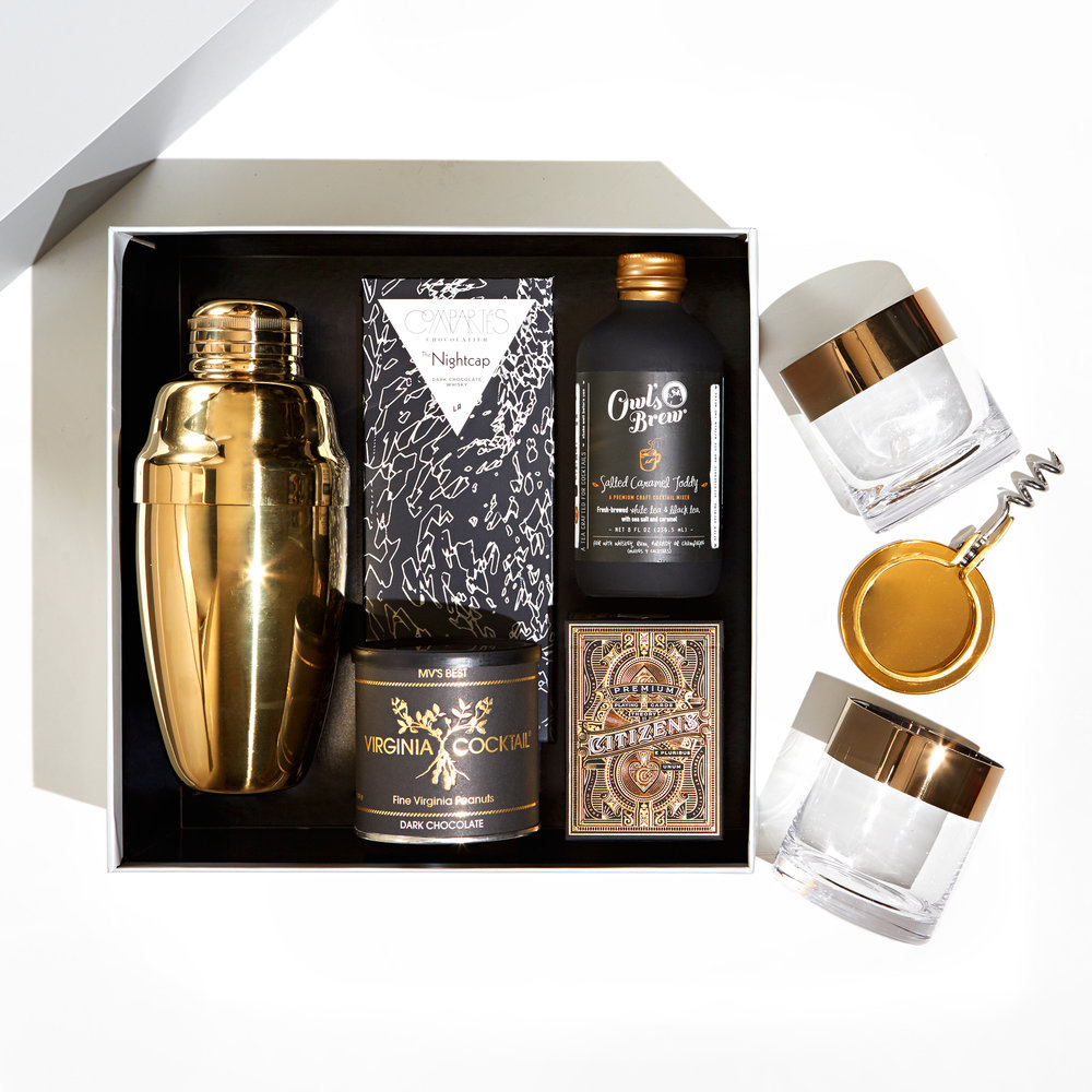 Gold Cocktail Gift