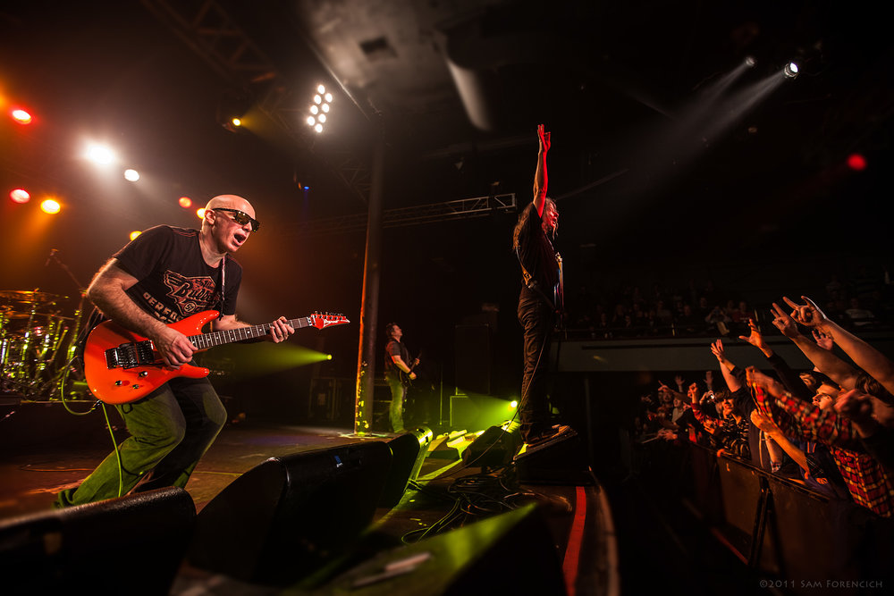 January 2011, Portland, Oregon - Joe Satriani performs at the Roseland Theater - 2011 Black Swans and Wormhole Wizards Tour  ©2011 Sam Forencich