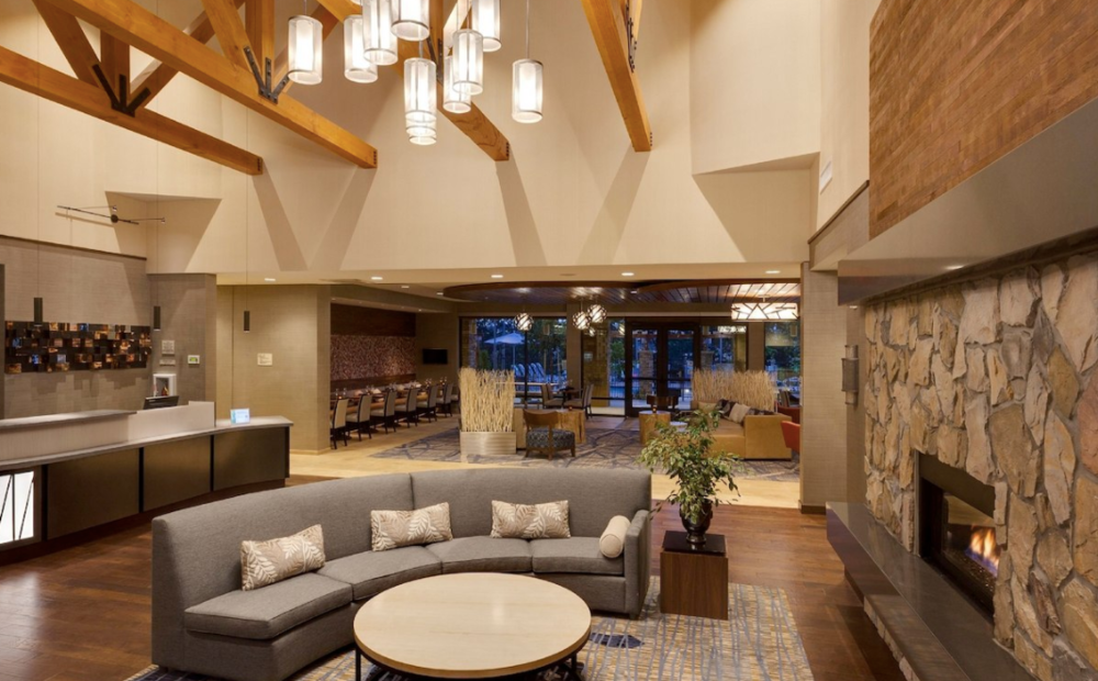 The Lobby at the SpringHill Suites