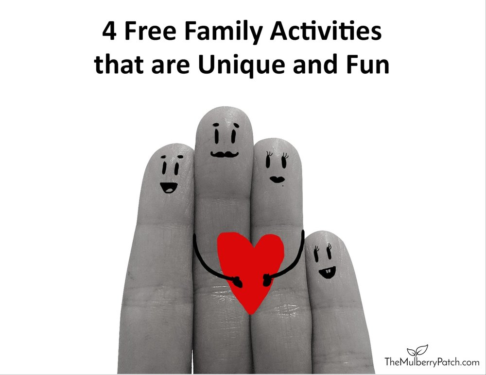 4 fun and unique free family activities