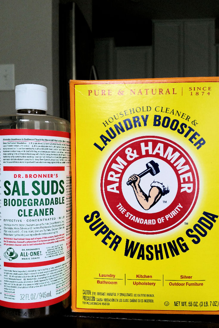 Natural Laundry Care, Two Ways (H.E. Safe) - homemade laundry detergent