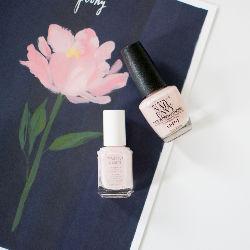 Perfect Easter nail polish, via The Small Things Blog