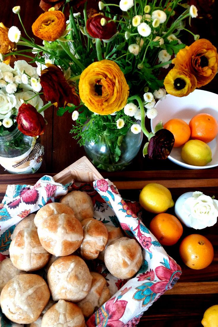 flowers and hot cross buns.jpg