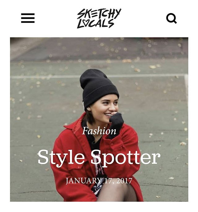 This weeks Style Spotter: @mimiabintra  #sketchylocals #fashionista #newyorkfashion #fashionmodel #style #streetstyle #artist #trendsetter #fashiontrend #influencer #styleblogger #stylespotter #vogue