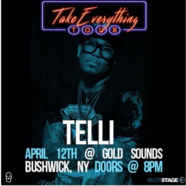 Tomorrow @goldsoundsbar #takeeverythingtour presented by @majorstage doors open at 8pm