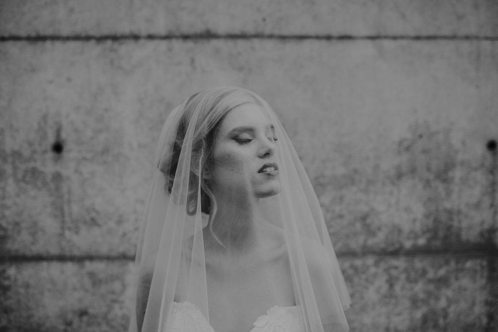 Elizabeth Lee veils