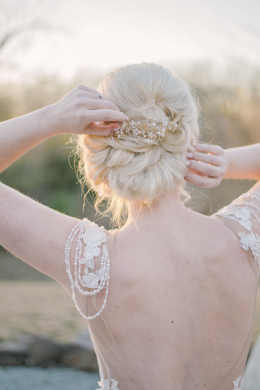 bridal hair clips and hair pins
