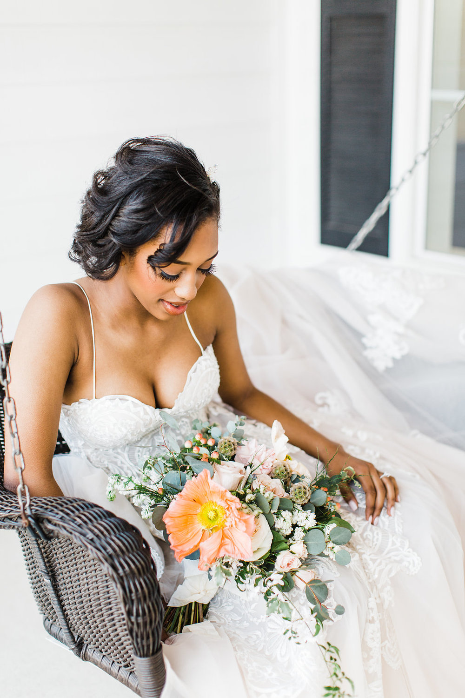 wedding photography lace a-line wedding dress