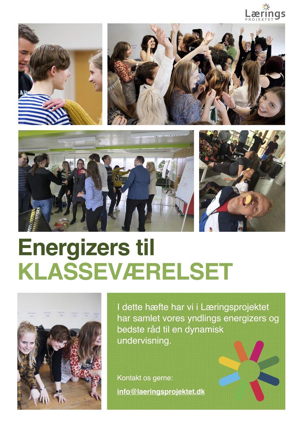 energizers i skoledagen laeringsprojektet