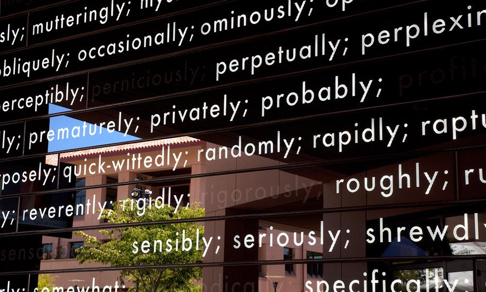 Peter Wegner's Wall of Words -