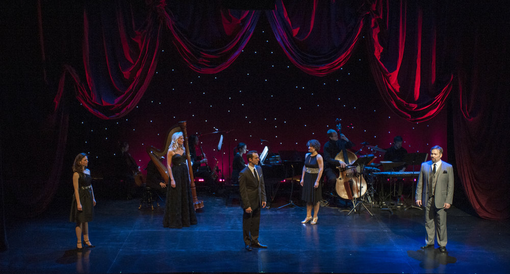 Lynne's Track,  A Grand Night For Singing , Mercury Theatre (Photo by  Michael Brosilow )