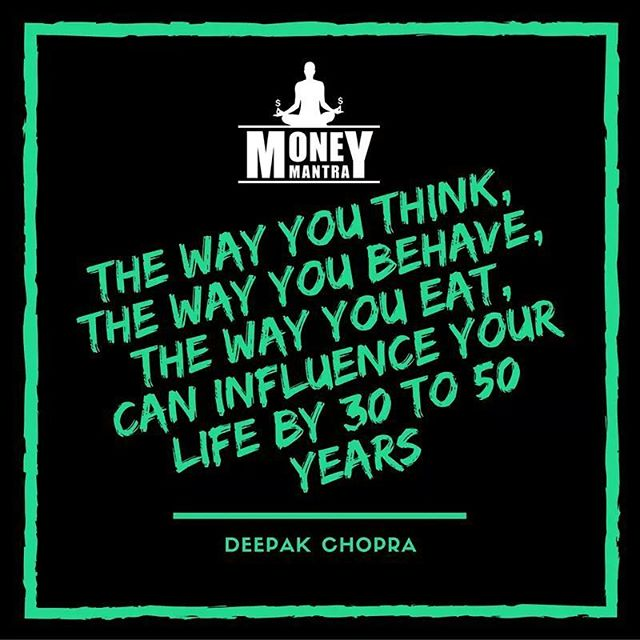 Pay attention to @deepakchopra  #MoneyMantra #Deepakchopra #Eat #Think #Meditation #Meditate #Philosophy #Mindfulness #Love #Life #Money #Hustle #Entrepreneur #Spirit #Spiritual #Hustle #Inspiration #Motivation #Success #quoteoftheday #life #instagood #podcast #talk