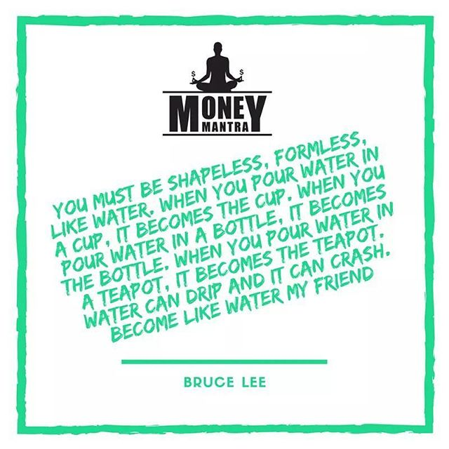 @brucelee was an amazing human being with great ideas ✊🙏 #MoneyMantra #Brucelee  #Meditation #Meditate #Philosophy #Mindfulness #Love #Life #Money #Hustle #Entrepreneur #Spirit #Spiritual #Hustle #Inspiration #Motivation #Success #quoteoftheday #life #instagood #podcast #talk
