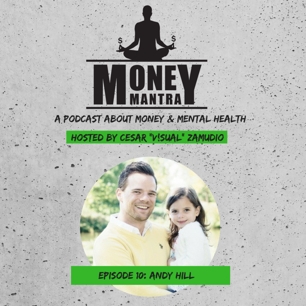 Andy Hill of Marriagekidsandmoney.com  - talks about paying his mortgage off in 5 years, the importance of accomplishing goals and how he learned that our society is