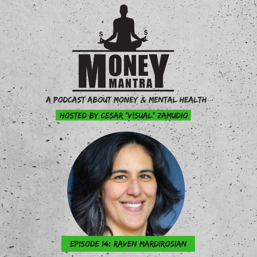 Raven Mardirosian - is an author, teacher and sought-out Tarot reader who has given thousands of sessions worldwide for over 12 years. She's written 13 books, most notably The Reluctant Tarot Reader: Adventures in the Gypsy Trade. On episode 14 Raven discusses the struggle with making her healing work a business, money habits + more