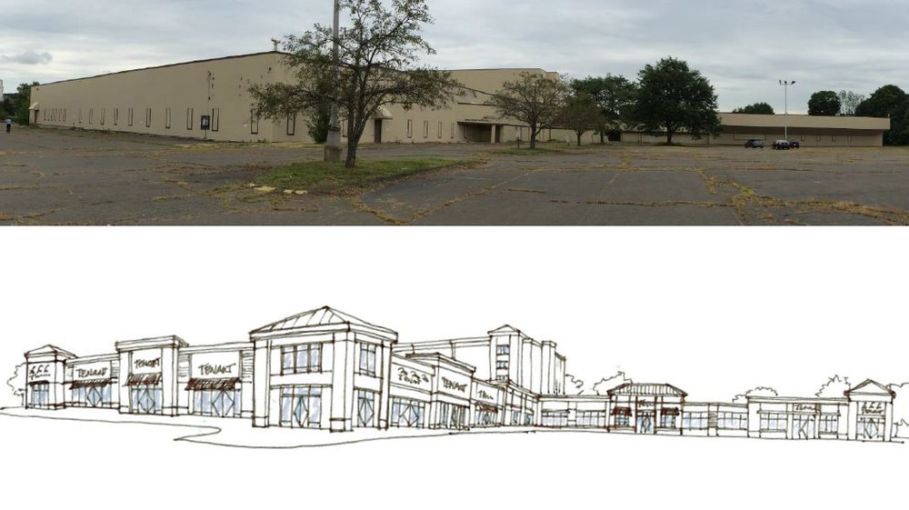 Redevemopment / Mixed Use    DEVELOPMENT SITE - Rocky Hill, CT    Former Ames Headquarters located on the Silas Deane Highway. 295,000 square feet of existing buildings