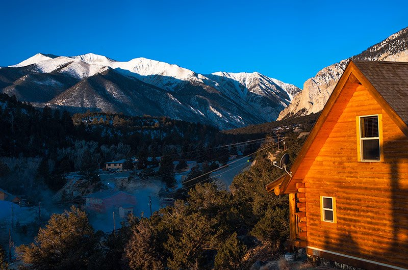 Mt. Princeton Hotspring resorts    HOSPITALITY - Nathrop, CO    Located at the base of Mt. Princeton, these Colorado hotsprings feature a lodge, luxury spa & club, banquet facility and 35 log cabins with full hotel services