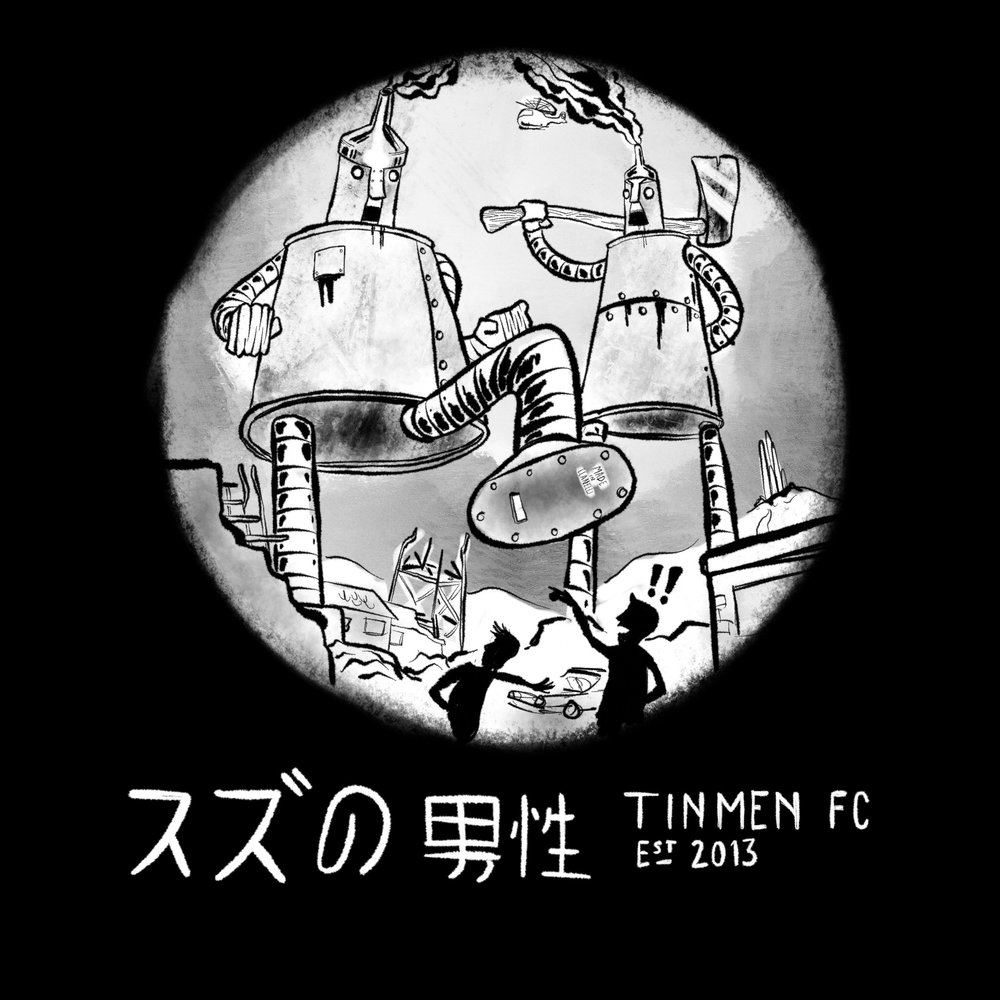 The Tinmen (2016), concept for local sports team