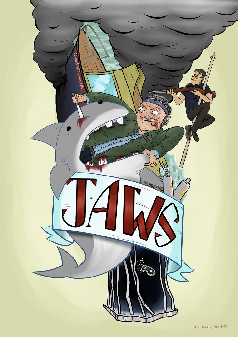 Jaws (2013), screening poster