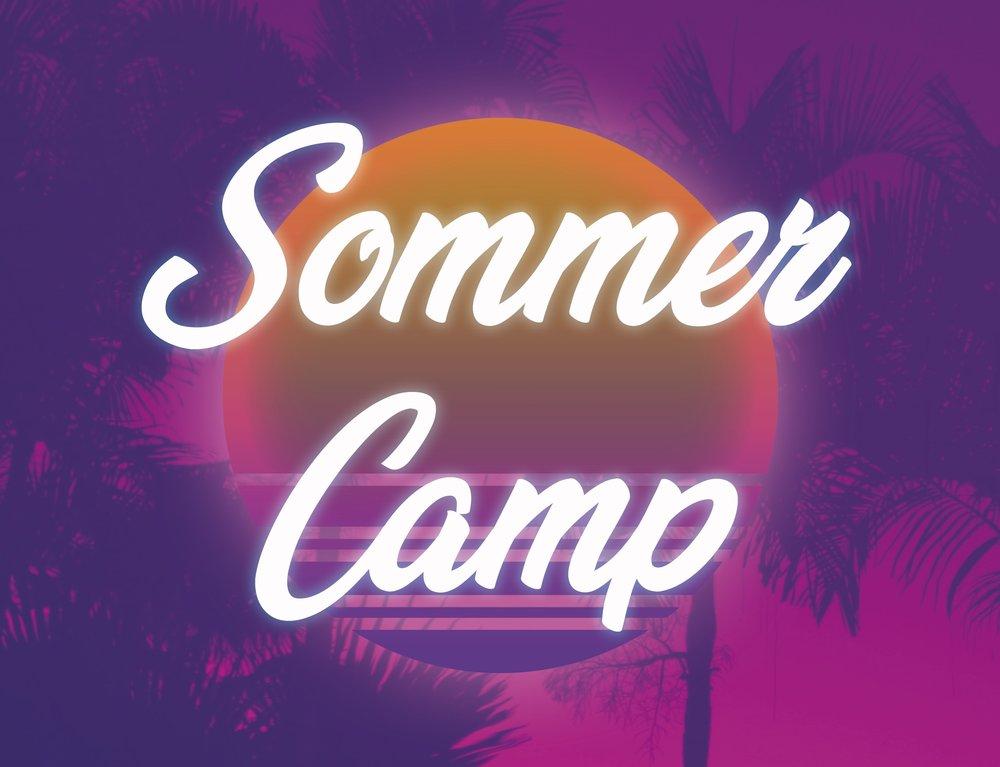 SommerCamp 2019  - 8.-13. juli i uge 28