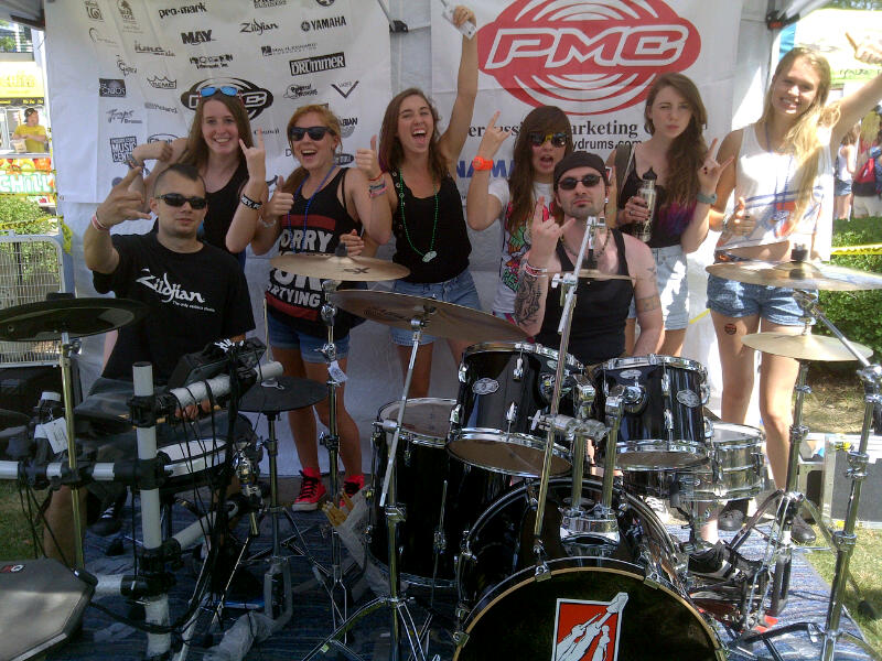 Play DRUMS WARPED TOUR