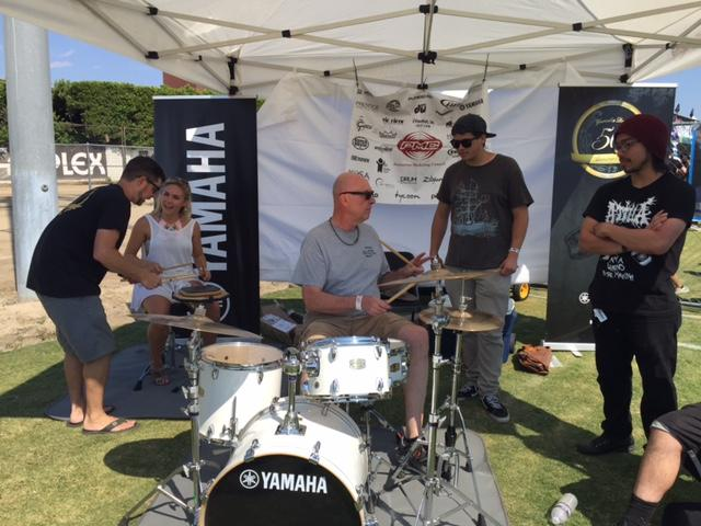 Yamaha hosted Lesson Lab in Pomona, California