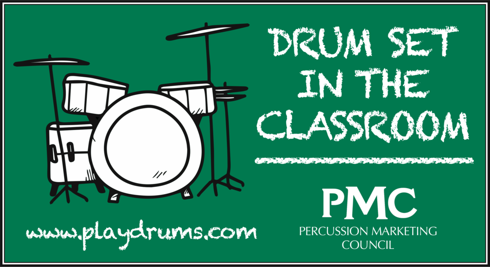 Drum Set in the classroom