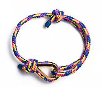 SHKERTIK BRACELET ZULU - $19.99 The richness of color's power, positivity and soul's creativity Handmade in Lithuania.